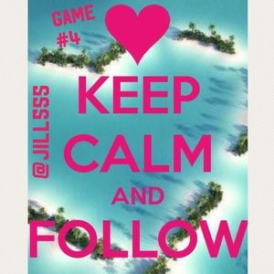 Other - 💕FOLLOW GAME 4-Like this Listing, follow, share