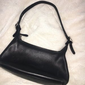 Coach real leather bag