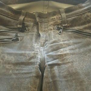 Rag&bone skinny leather pants
