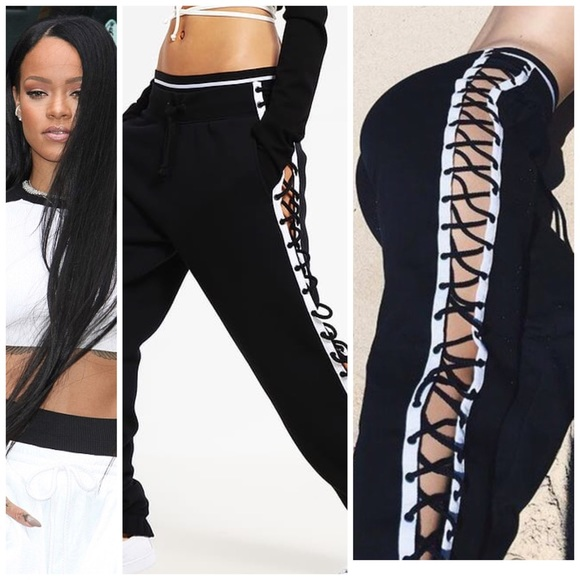 7078d7ab5ed Only 1 LEFT!! NEW Fenty Puma lace up pant NWT