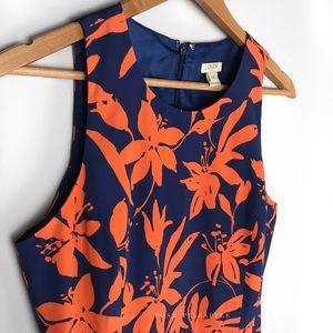 J.Crew Factory Dresses & Skirts - J. C r e w • F l o r a l • D r e s s • Sz 4