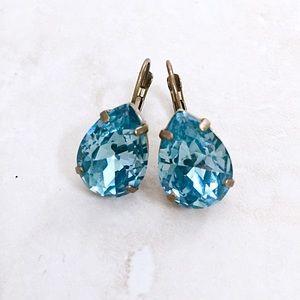 Sorrelli Jewelry - Sorrelli Brilliant Crystal Teardrop Earrings