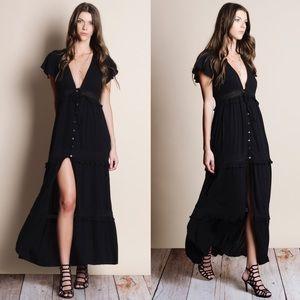 Button Down Maxi Dress / Top