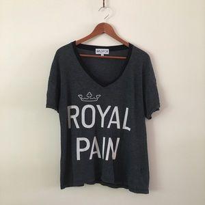 Wildfox   Royal Pain Tee