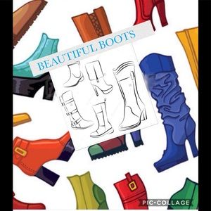 Shoes - Beautiful Boots