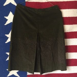 Barneys New York Dresses & Skirts - Barney's New York Olive Courduroy Skirt