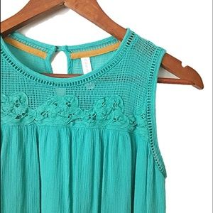 Dresses & Skirts - New gorgeous deep mint green summer dress