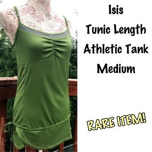Isis Tops - Rare Isis Tunic Length Athletic Tank Top M
