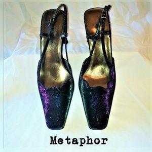 Metaphor Shoes - Metaphor Color-Changing Pumps SZ 9.5M NWOT