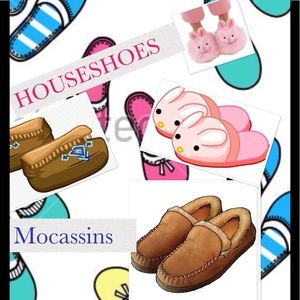 Shoes - Moccasins and HousShoes