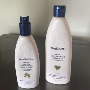 Noodle & Boo Other - Noodle and Boo extra gentle shampoo & hair polish