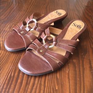 Sofft Shoes - Small Wedge Sandal Never Worn
