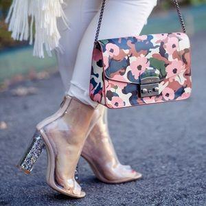 Public Desire Shoes - [Public Desire]star perspex heel (glitter heel)