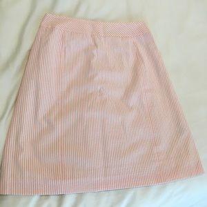 Petite Sophisticate Dresses & Skirts - NWT Petite Sophisticate Seersucker Skirt