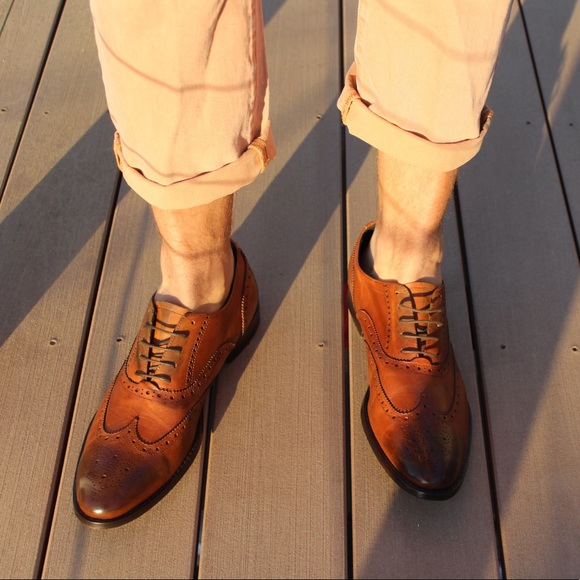 2375683d073 To Boot New York Duke oxfords in cognac