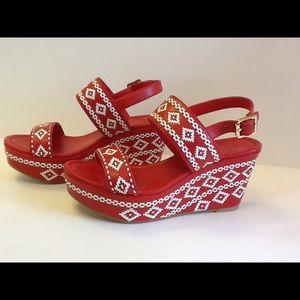 Tory Burch Wedge Shoe