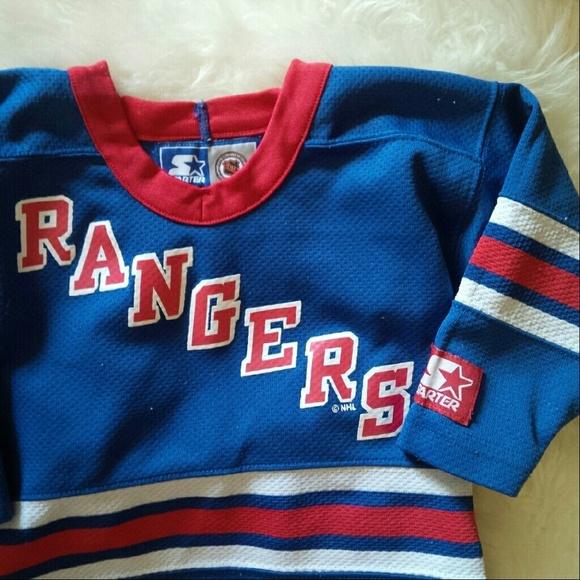 60% off starter Other - Rangers Jersey Hockey Jersey ...