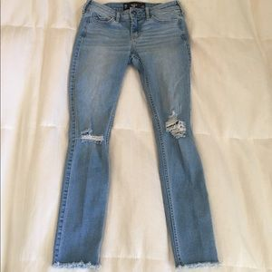 Hollister Pants - Hollister Cropped Skinny Jeans
