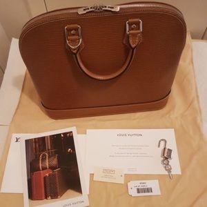Louis Vuitton Handbags - Louis Vuitton LV Alma PM EPI Tote,