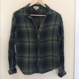 17/21 Exclusive Denim Tops - M Cloth & Stone Flannel