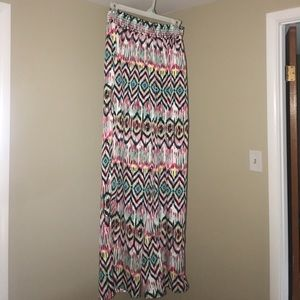 Aina Be Pants - Multi colored palazzo pants NWOT