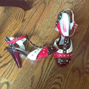 Betsey Johnson Shoes - Betsy Johnson Glam Rock Heels