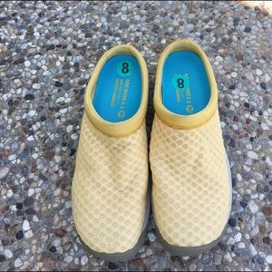 Merrell Shoes - Yellow Clogs/Slip Ons By Merrell Size 8