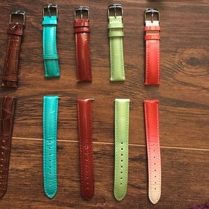 Michele Accessories - 7 Michele leather bands. 16 inch. Great condition