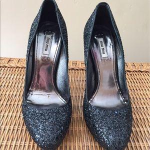 Miu Miu Shoes - Miu Miu Heels shoes Jewel Encrusted
