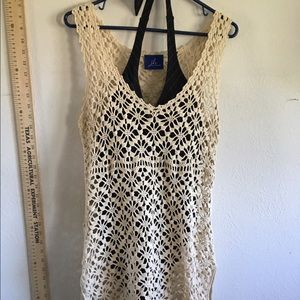 jh Other - New creamy crochet swim cover OR blue NICE 👍
