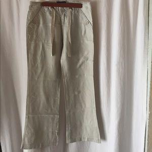 Sanctuary Pants - Sanctuary los angeles linen pants size 10