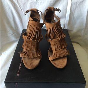 Steven by Steve Madden Shoes - NEVER WORN Steve Madden Bijoux in Cognac size 6