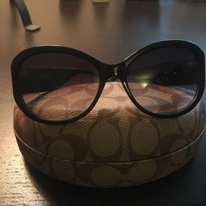 Coach Accessories - Coach black sunglasses