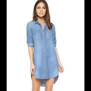 Anthropologie Chambray dress Small