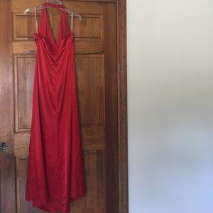 De Laru Collection  Dresses - De Laru red formal dress