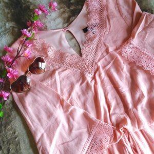 Jodi Kristopher Dresses & Skirts - Jodi Kristopher 3/4 Bell Sleeve Boho Dress