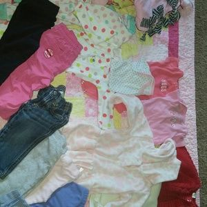 Other - Lot of baby girls cloths variety of sizes