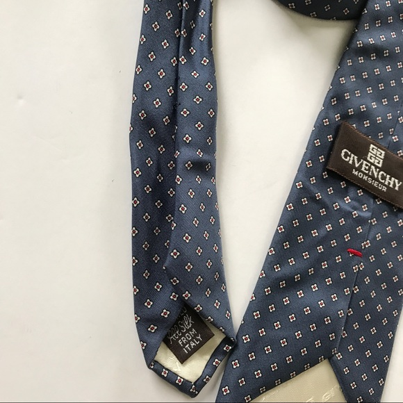 93% off Givenchy Other - Givenchy Monsieur Blue Pattern ...