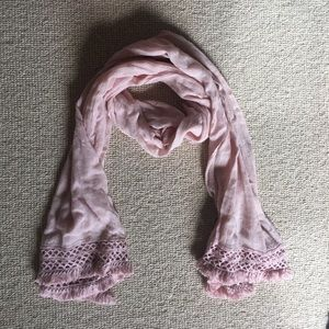 J. Crew Accessories - J. Crew blush scarf