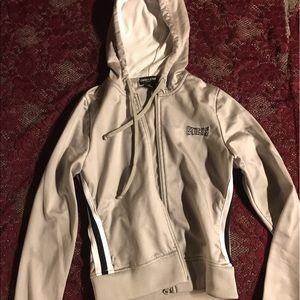 Silver Guess hoodie