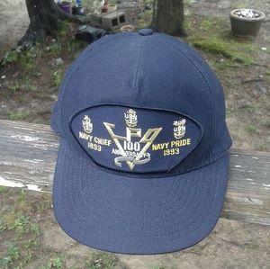 Eagle Crest Navy men's Flat cap