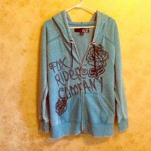Fox Sweaters - Fox Zip Up Hoodie