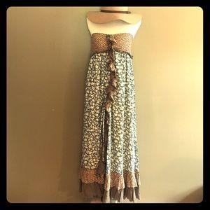 Ryu Dresses & Skirts - Anthropologie by Ryu Floral Ruffle Dress
