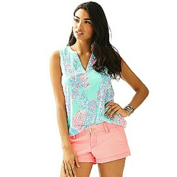 1d18dd5caed35 Lilly Pulitzer Tops - Lilly Pulitzer Essie top