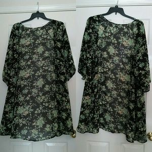 "PacSun Other - Floral ""Kimono"""