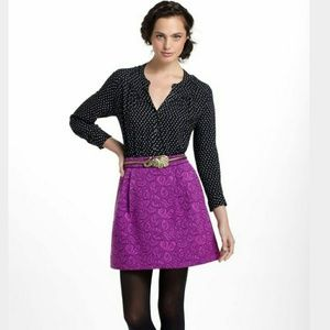 Anthropologie ~ HD in Paris purple/magenta skirt