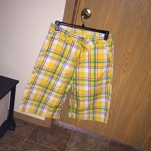 Plaid shorts: Multiple colors available!!!!