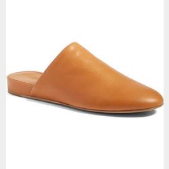 32 Off Vince Shoes Vince Oren Leather Mule Slide Loafer