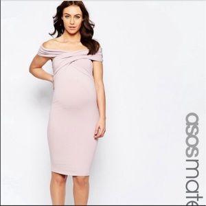 ASOS Maternity Dresses & Skirts - NWT ASOS Maternity Midi Bodycon Dress Size 4