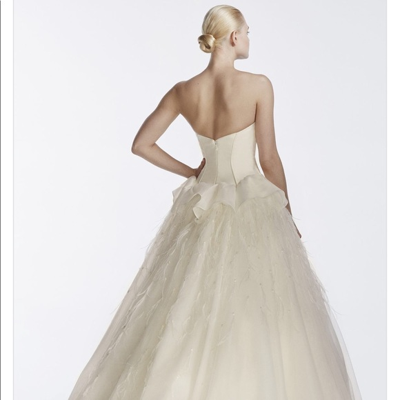 59 off truly zac posen dresses skirts limited edition for Truly zac posen wedding dress with sequin detail